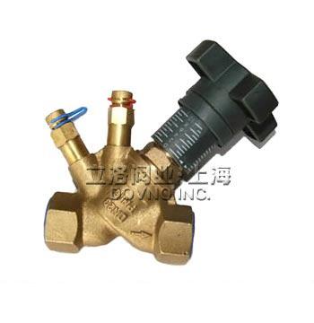 上海欧文托普型静态黄铜平衡阀 手动PSKEE静态平衡阀品牌厂家价格 中国供应商