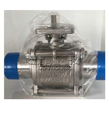 PSK-3061QF三片式对焊球阀