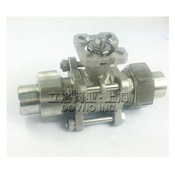 PSK-3021QF三片式活接对焊球阀