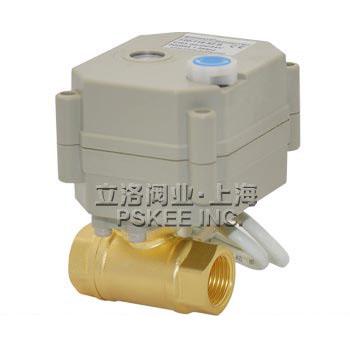 CWX,DO11-T黄铜微型电动球阀
