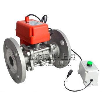 PSK-30911QF-TC电动陶瓷芯球阀