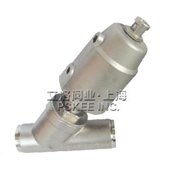 PSK20061-P不锈钢气动焊接角座阀