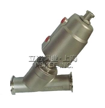 PSK20081-P不锈钢气动快装角座阀
