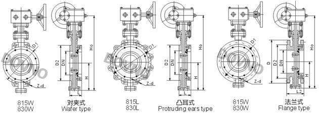 d815w/830w-美标对夹式蝶阀-立洛阀业(上海)有限公司图片