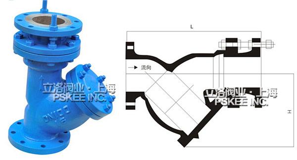 y型拉杆伸缩过滤器结构图