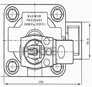 脉冲式防爆电磁阀尺寸图2