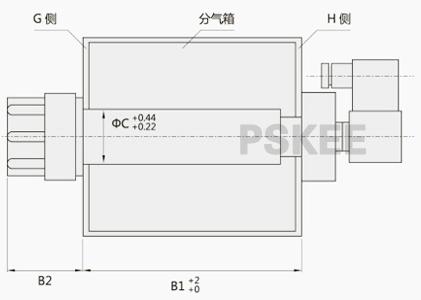 脉冲电磁阀是脉冲袋式除尘器清灰喷吹系统的压缩空气图片