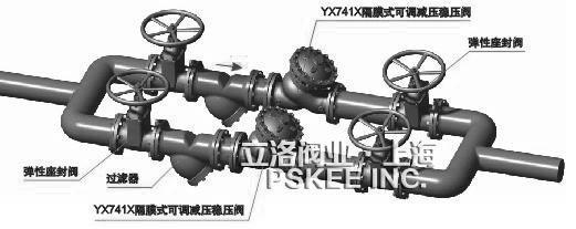 pskee 供应 ax742x/dy500x/bfax107x 水力控制阀 泄压持压阀图片